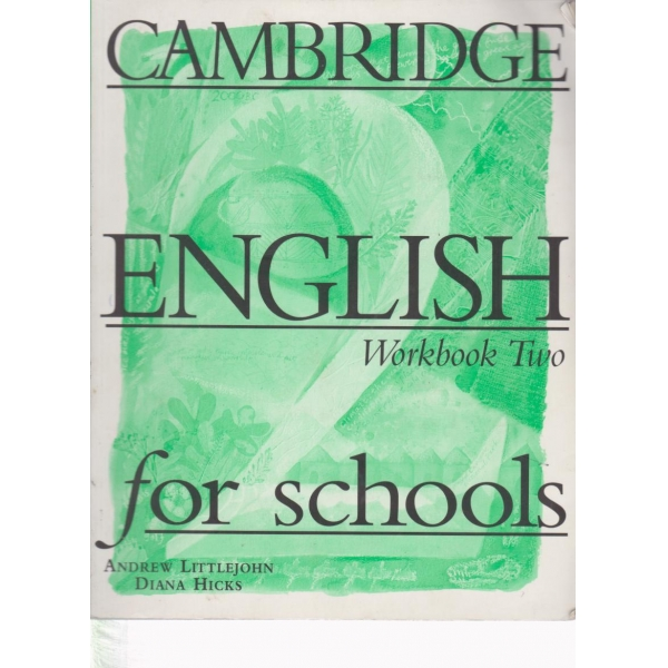 English workbook two for schools